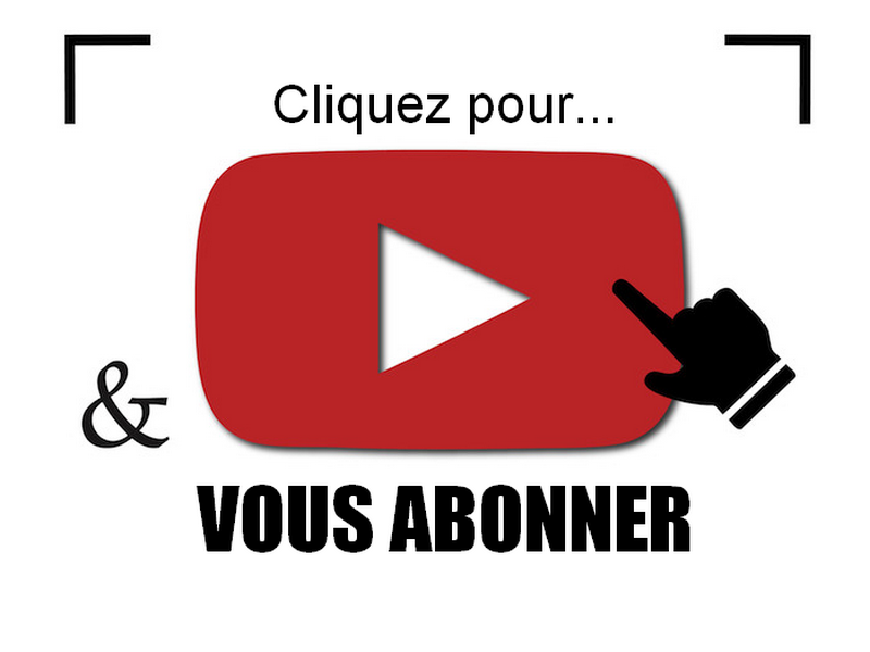 bouton abonnement youtube