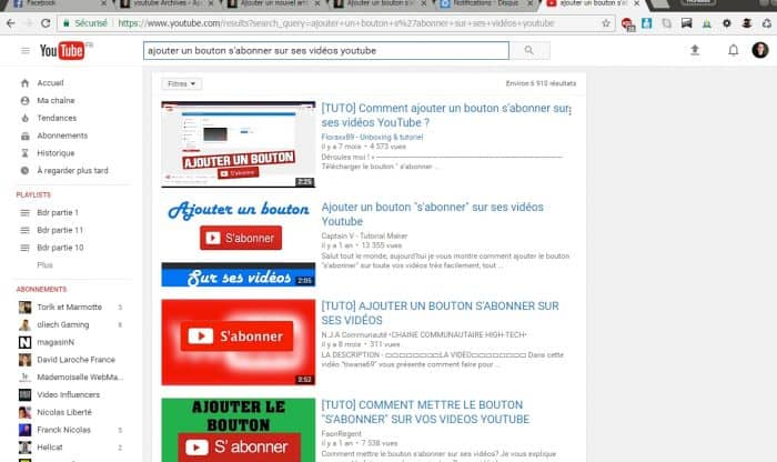 choisir son titre youtube