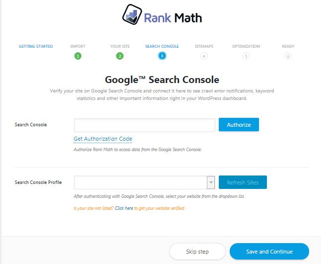 search console rank math