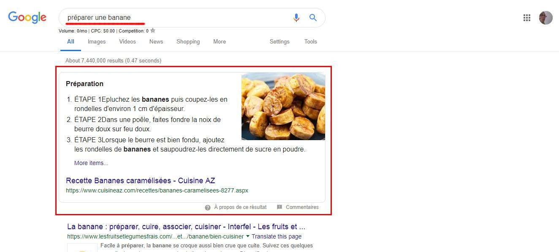 google exemple de contenu enrichi