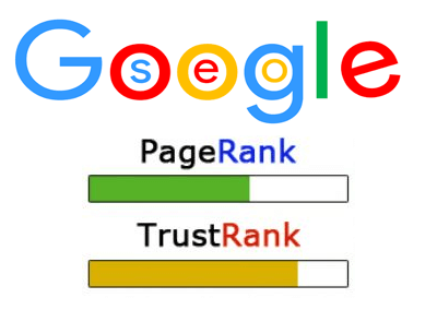 google pagerank et trustrank