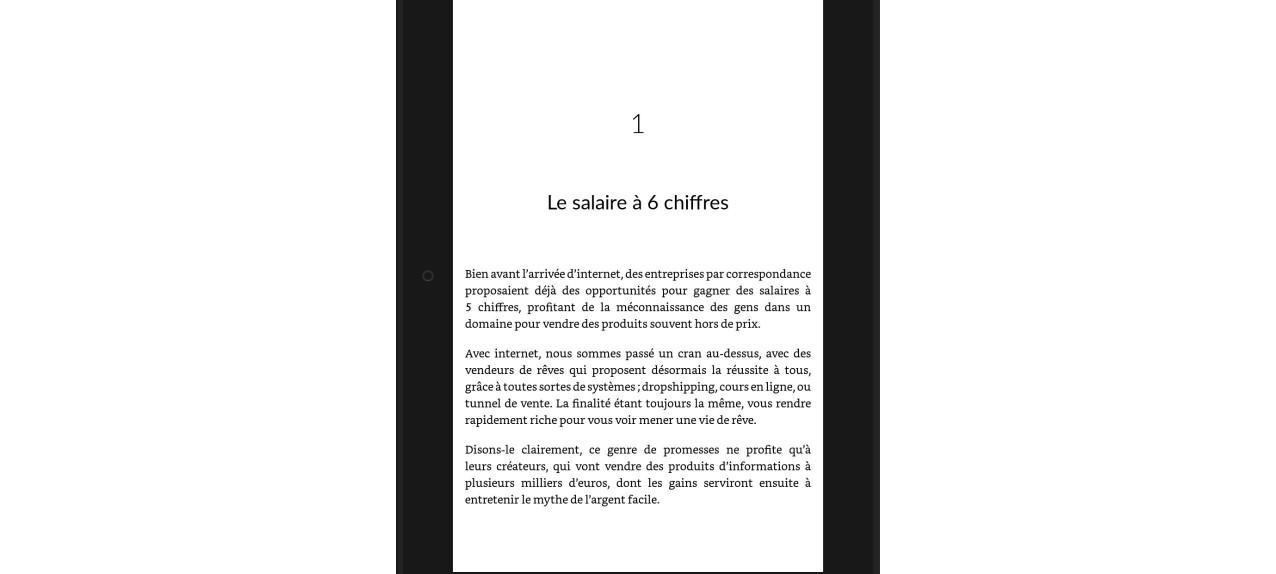 outil de prévualisation amazon ebook