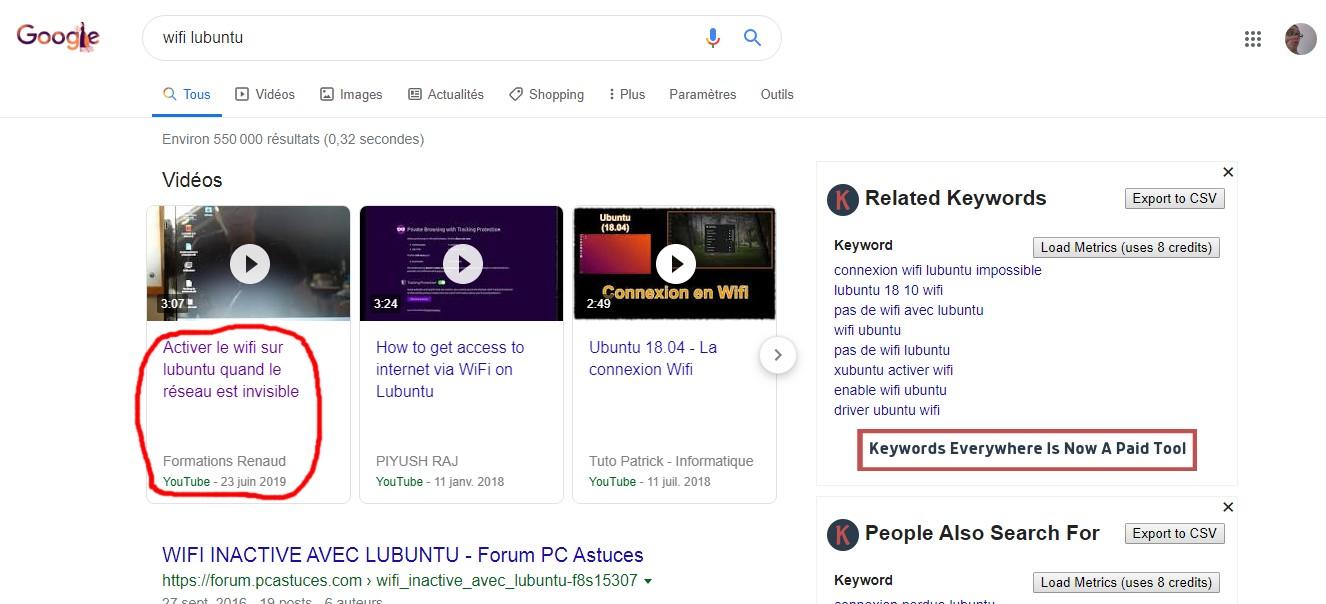 avoir plus de vues youtube grâce à google
