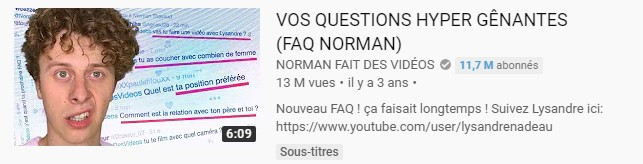 faq youtube