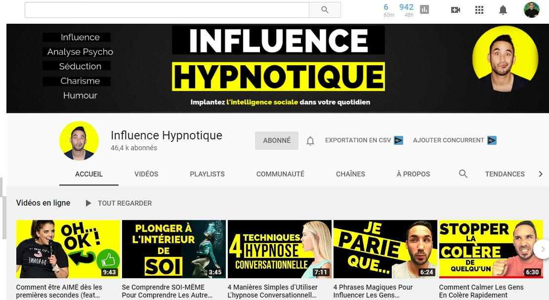 influence hypnotique