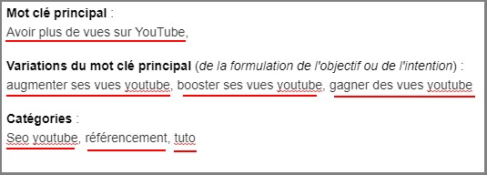 tagguer ses vidéos youtube