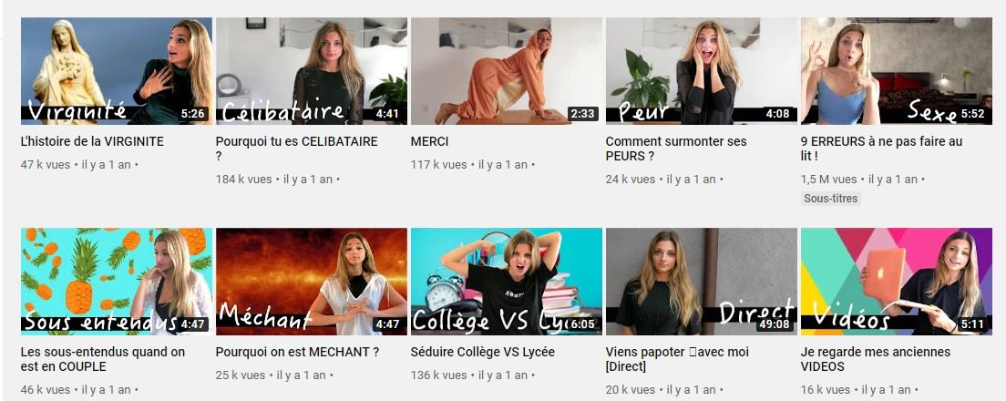 youtubeuse ambrouille
