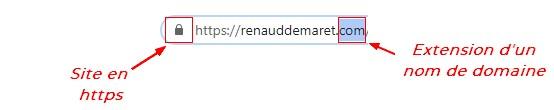 https et extension nom de domaine
