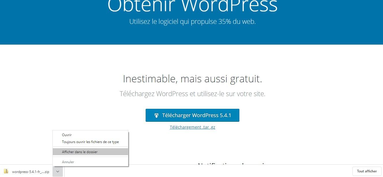 archive wordpress