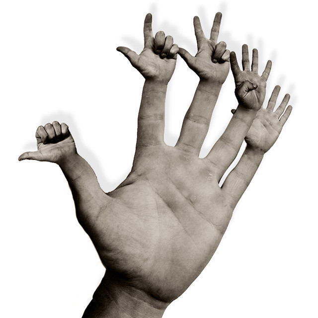 compter sur ses doigts