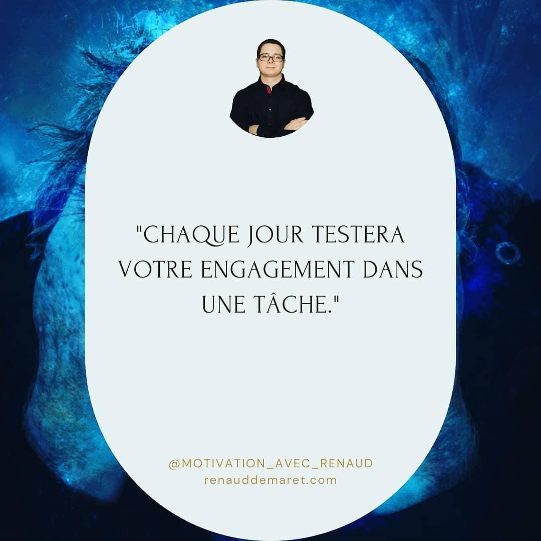 citation inspirante engagement test