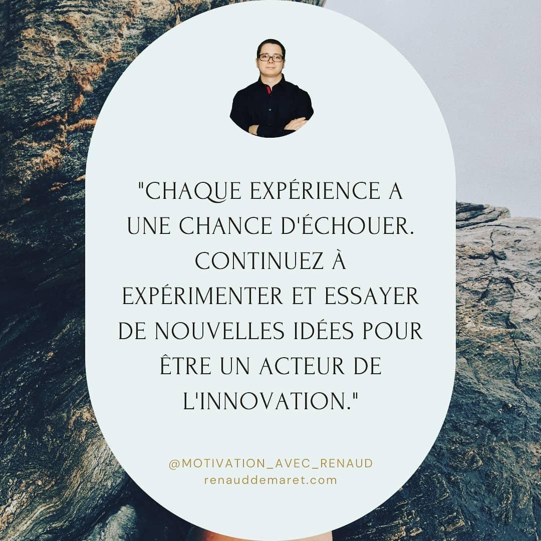 citation inspirante innovation