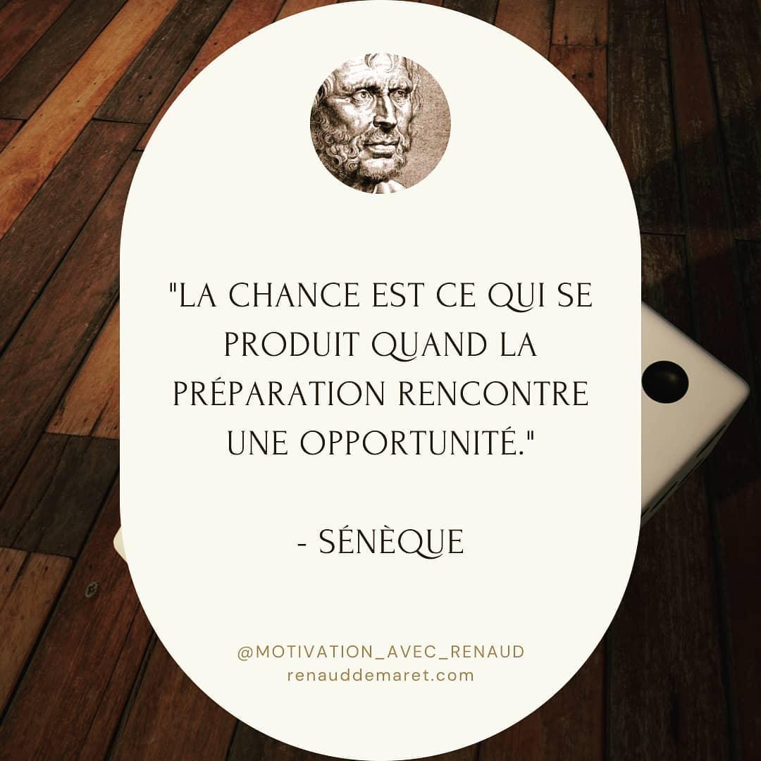 citation seneque chance